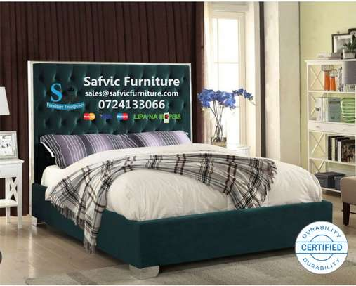 Livorno Kingsize Mirrored Bed