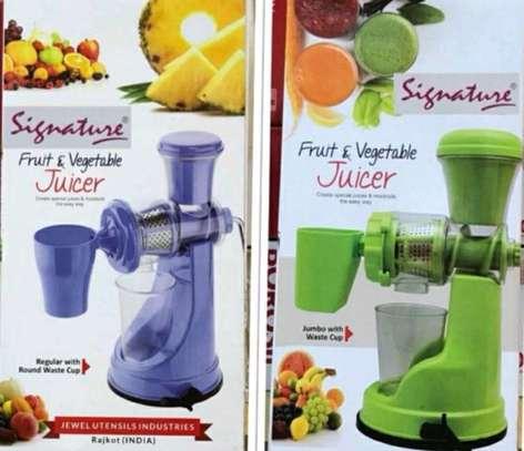 Fruits and vegetables juicer image 1