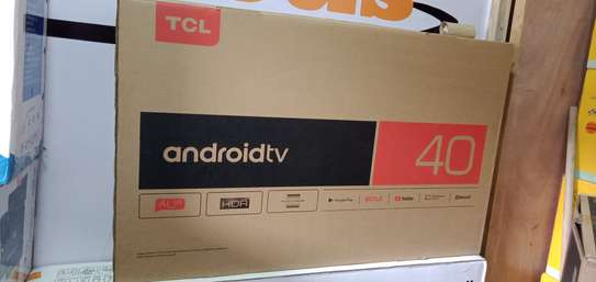 """TCL 40"""" FULL HD ANDROID TV, NETFLIX, YOUTUBE 40S6800 - Black image 1"""