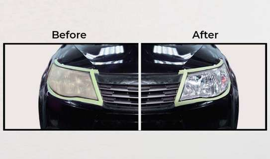 Car Headlights HeadLamps Restoration Machine Kit image 3