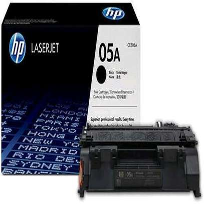 05A toner cartridge black only CE505A printer number P2055 P2035 image 2