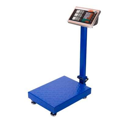 New version 150kg Digital Electronic Price Platform Scale (Blue) image 1