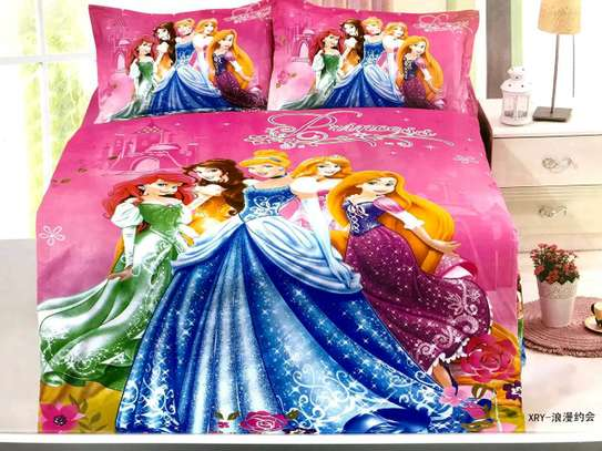CARTOON THEMED KIDS DUVETS WITH 1 BEDSHEET AND 1 PILLOW CASE image 5