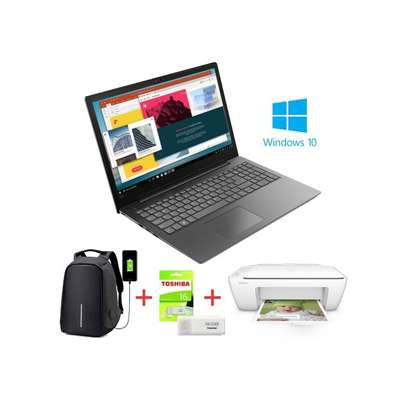 "Lenovo V130-15.6""-Intel Celeron N4000-1TB HDD-4GB RAM-Windows 10-Iron Grey+Bag+16GB Flash+Printer image 1"