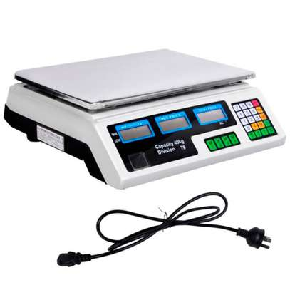 Scale 30Kg Commercial Digital Multifunction Business Weight. image 1