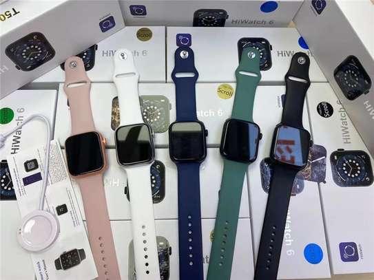2021 NEW smart watch T500 pro 1.75 Inch Screen Series6 Hiwatch EGM Reloj Heart Rate Blood Pressure Monitor smartwatch image 2