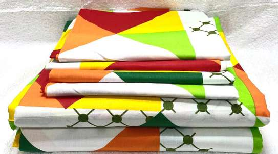 7 by 8 Lux core bed sheets sets with 1 Flat Sheet, 1 Fitted Sheet, and 4 Pillowcases. image 3