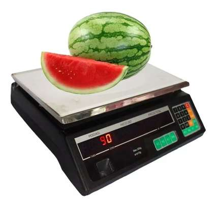 30kg Accurate Electronic Digital Weighing Scale Printer. image 1