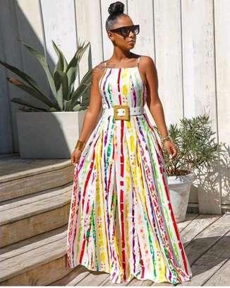 Multi-Colored Maxi Dress image 1