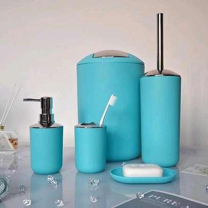 ?✨  ♦️Tooth Mug ♦️Toothbrush Holder ♦️Lotion Dispenser ♦️Soap Dish ♦️Trash Can  ♦️Toilet Brush With Holder image 1