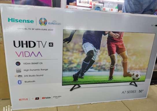 "Hisense 50A7100F 50"" 4K HDR Ultra HD Smart TV -Mid Month Discounts image 1"
