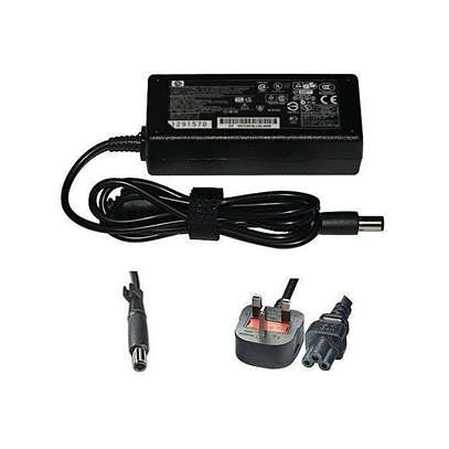 HP Laptop Charger 18.5V 3.5A BIG PIN Complete with Power Cable/ 3 Pin Cord