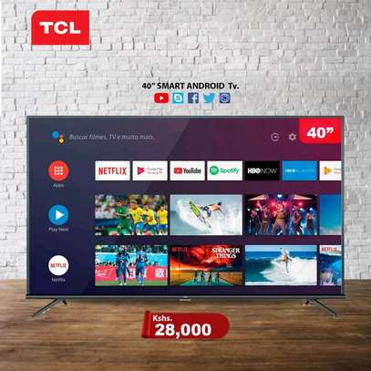 40 inch TCL smart Full HD Televisions image 1