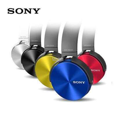 Sony MDR-XB450 Xtra Bass Wired Headphones image 1