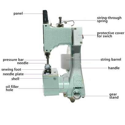 Sack Sewing Machine Bag Closer Industrial image 1