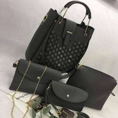 4 in 1 handbags different colors