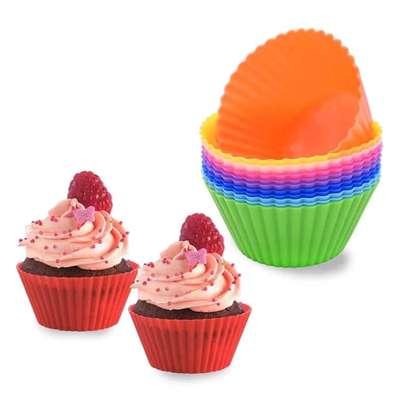 12 piece cupcake moulders image 5