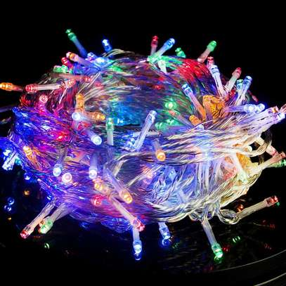 Twinkle Star 66FT 200 LED Indoor Fairy String Lights, Plug in String Light 8 Modes Waterproof for Outdoor Christmas Wedding Party Bedroom Decorations (Multicolo image 1