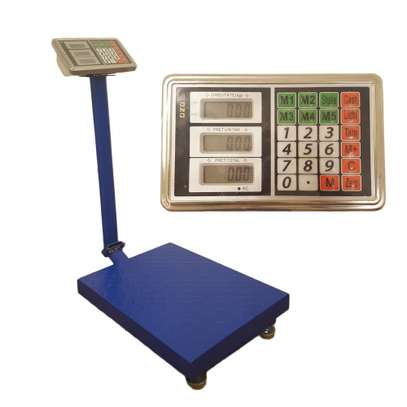 300kg Rechargeable HighPrecision Digital Electronic Pricing image 1