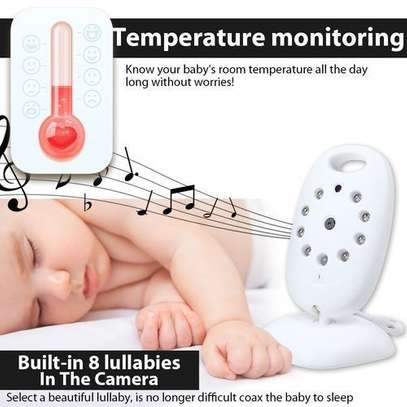 """2.0"""" Two Way Wireless Baby Monitor -Color Video LCD image 2"""