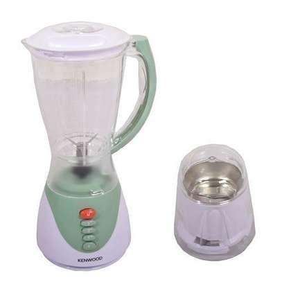 Elegant Blender with Grinder - 1.5 Litres - White & Light Green image 1
