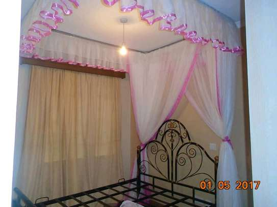 Brand new custom made Rail shears mosquito nets sliding like curtains fixed on the ceiling image 13