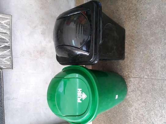 100litre dustbin/plastic dustbin/pedal dustbin/plastic pedal dustbin bin/sanitary dustbin image 4