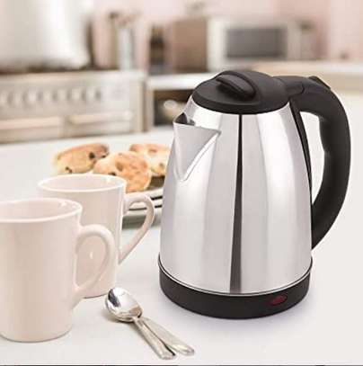 Cordless electric heater kettle image 1