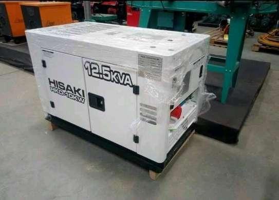 12.5kva back up silent power generator