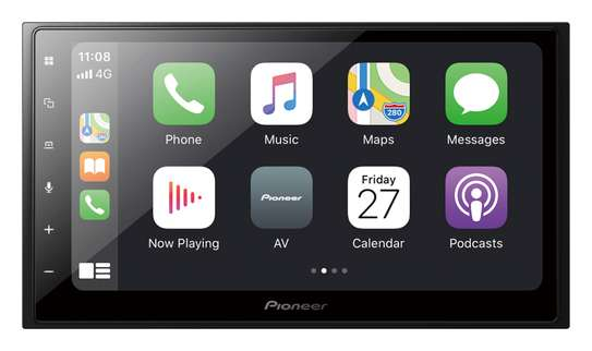 Pioneer DMH-Z5350BT 6.8 Capacitive Apple CarPlay Android Auto image 1