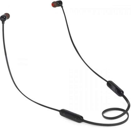 JBL T110BT Pure Bass Wireless in-Ear Headphones with Mic image 1