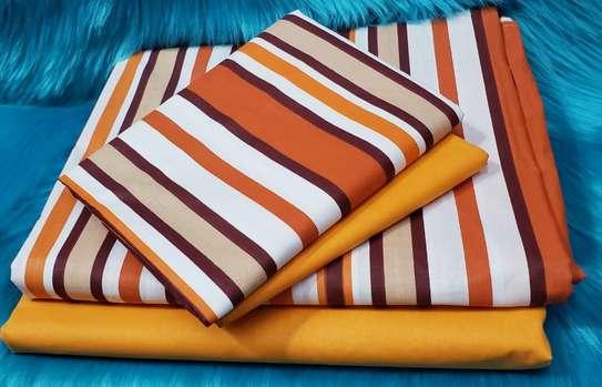 Classy Cotton Bed sheets(6pcs) image 13