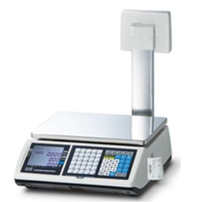 Receipt printing scale image 1