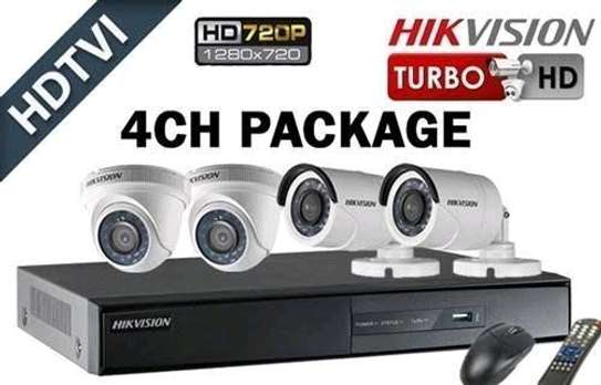 4 CCTV CAMERA PACKAGE - HIKVISION image 1