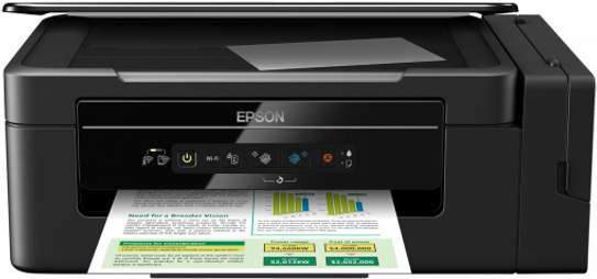 Epson L3060 All-in-One Wireless Ink Tank Colour Printer (Black)