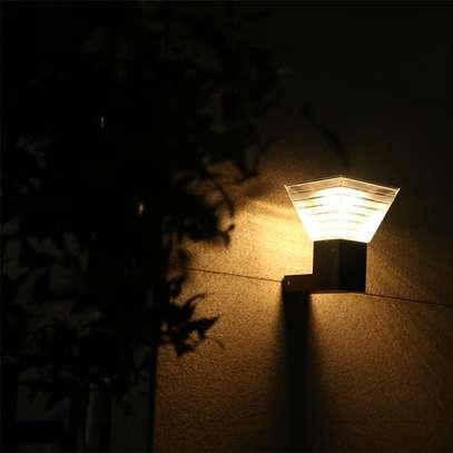 Wall Light LED Solar Wall Lamp image 1