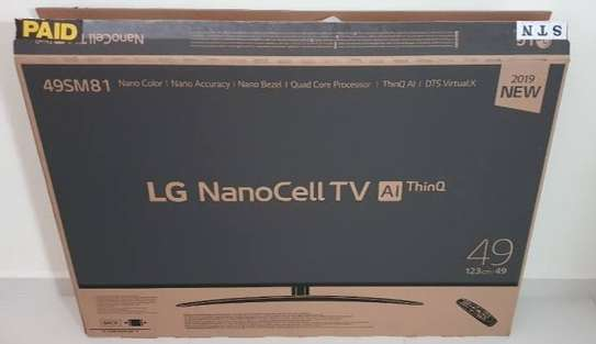 49NANO80VNA LG 49 Inch HDR 4K UHD Smart NanoCell TV New 2020 image 1