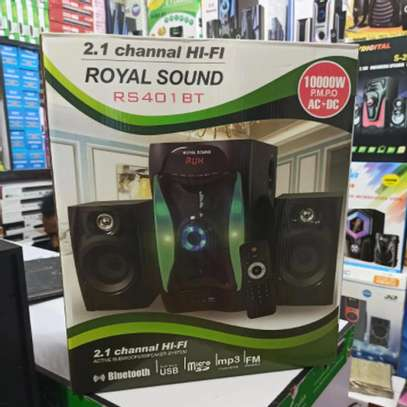 Royal Sound RS401BT 2.1 Channel Multimedia Sub-woofer image 1