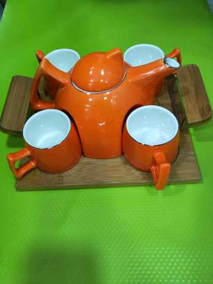 Coffee set ,cups and kettle set image 4