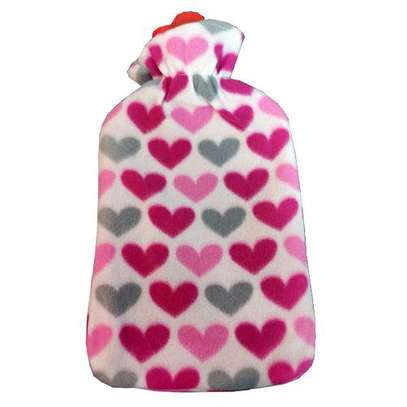 hot water bottle with the cover image 1