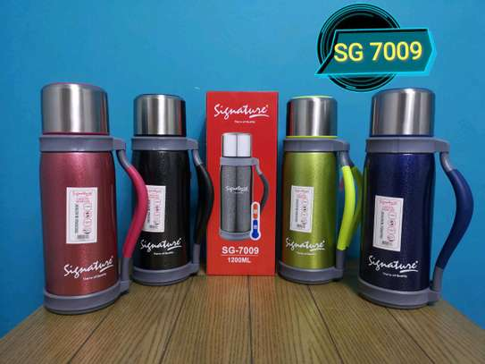 Thermo flask 1.2 litres image 1