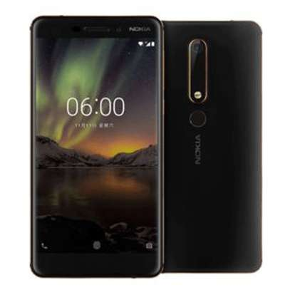 "Nokia 6.1 (2018) Smartphone: 5.5"" Inch - 4GB RAM - 64GB ROM - 16MP Camera"