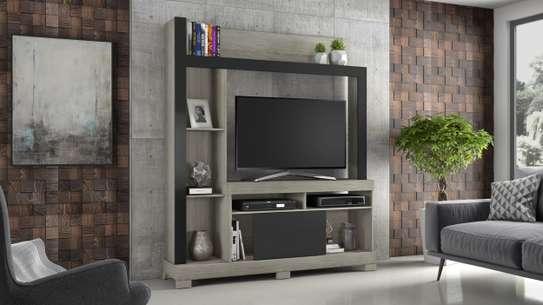 TV STAND WALL UNIT BELA CINNAMON image 1