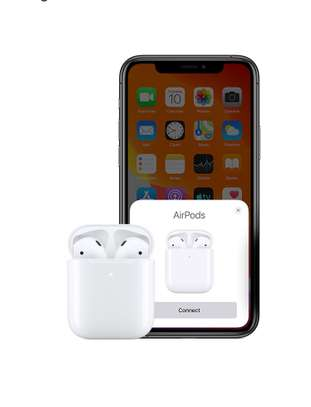 Airpods (2nd Generation) with Charging  Case image 1