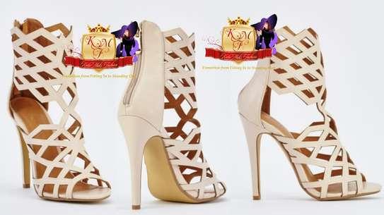 Gladiator Laser Cut Heels Made in UK image 1