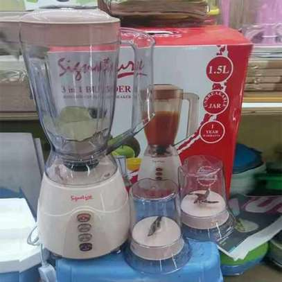 Signature 3 in 1 1.5 Litres Blender with Grinder and Chopper image 1