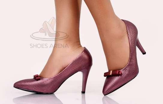 Shinny High heels image 2