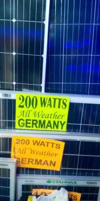 Starmax All Weather Solarpanel 200watts image 1