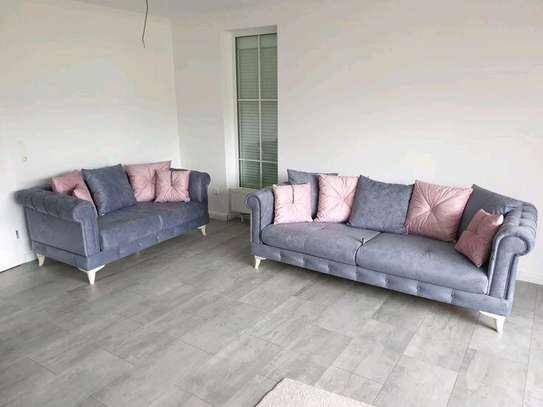 Latest three seater sofa/two seater sofa/Furniture stores in Utawala Nairobi Kenya image 1