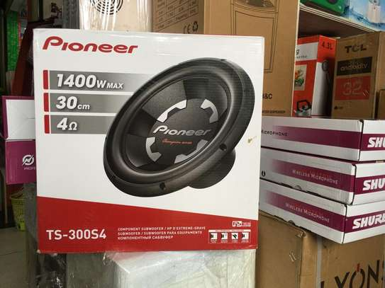 """PIONEER 12"""" SUBWOOFER TS W300S4 image 2"""